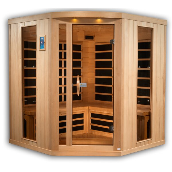 Reserve Edition 5 Person FAR Infrared Sauna by Golden Designs