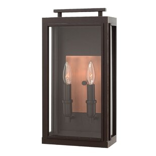 Price comparison Sutcliffe 2-Light Outdoor Wall Lantern By Hinkley Lighting