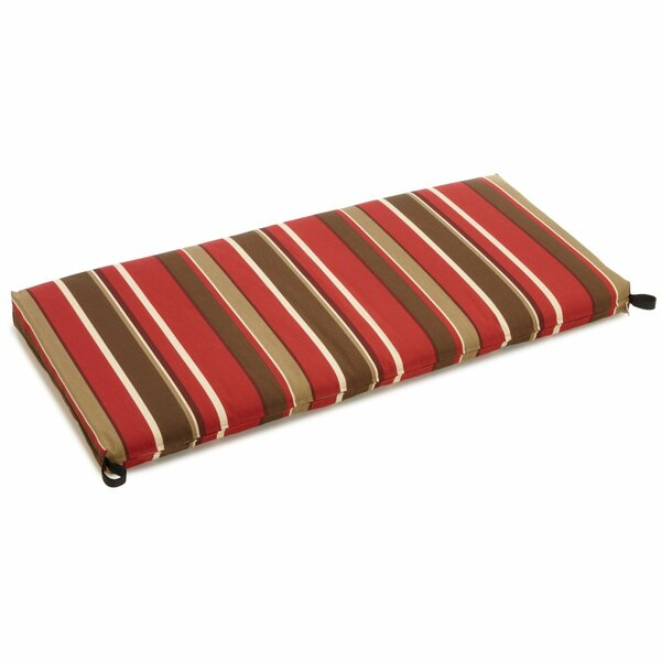 Monserrat Indoor/Outdoor Bench Cushion by Blazing Needles