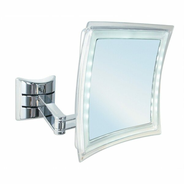 Manes LED Makeup/Shaving Mirror by Latitude Run