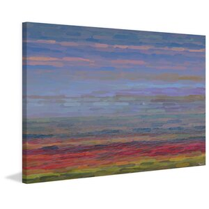 'Pembrokeshire' by Parvez Taj Painting Print on Wrapped Canvas by Parvez Taj