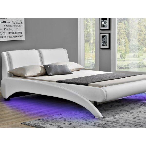 Kato King Upholstered Sleigh Bed by Orren Ellis