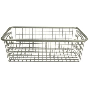Reviews Metal Basket By Rebrilliant