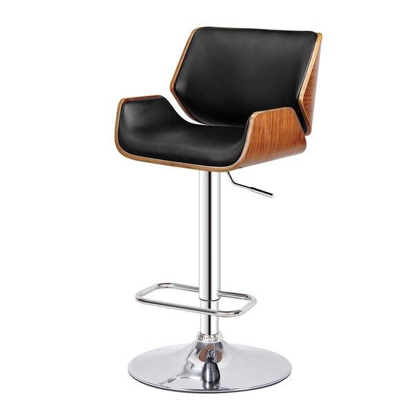 Monette Adjustable Height Swivel Bar Stool by Orren Ellis Orren Ellis
