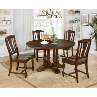 Nunnally Transitional 5 Piece Dining Set By Three Posts