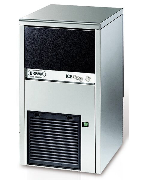 45 lb. Daily Production Freestanding Ice Maker by Brema