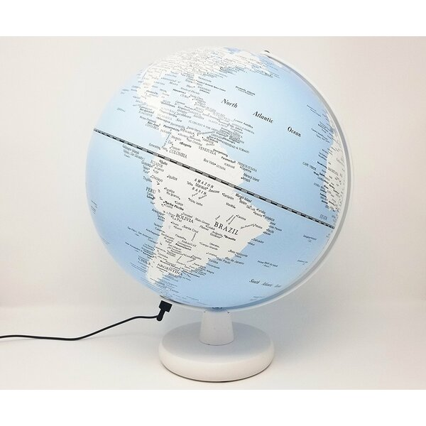 Illuminated Desk Globe by Ebern Designs