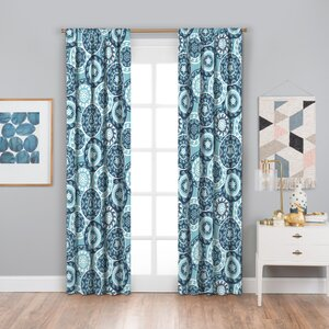 Jemaine Thermaback Blackout Single Curtain Panel