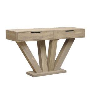 Dalton Modern Wood Console Table by Caribou ..