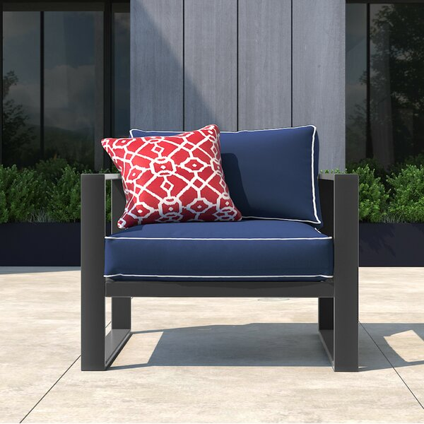 Monterey Patio Chair with Cushion by Tommy Hilfiger