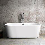 Luxury 67 x 32 Freestanding Soaking Bathtub byLuxier
