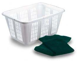 Laundry Laundry Basket (Set of 8) by Rubbermaid