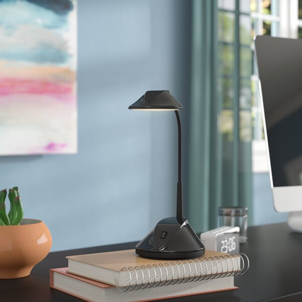 Jaworski 36 LED Dual Powered Desk Lamp by Symple S