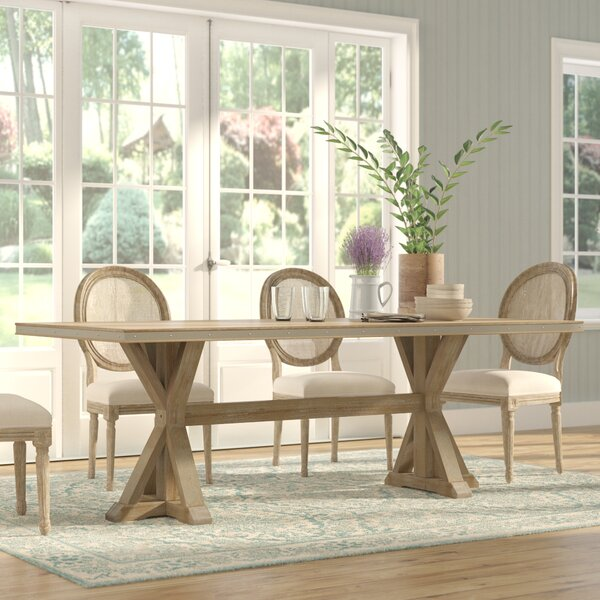 Knaresborough Dining Table by Three Posts