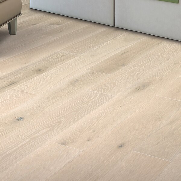 Coastal Allure 7 Engineered Oak Hardwood Flooring in White by Mohawk Flooring