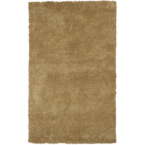 Bouvier Gold Area Rug by Wrought Studio