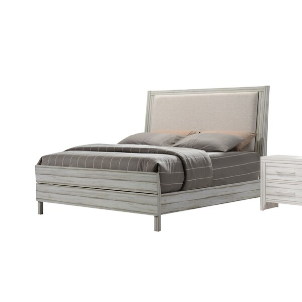 Andrews Upholstered Standard Bed by Highland Dunes