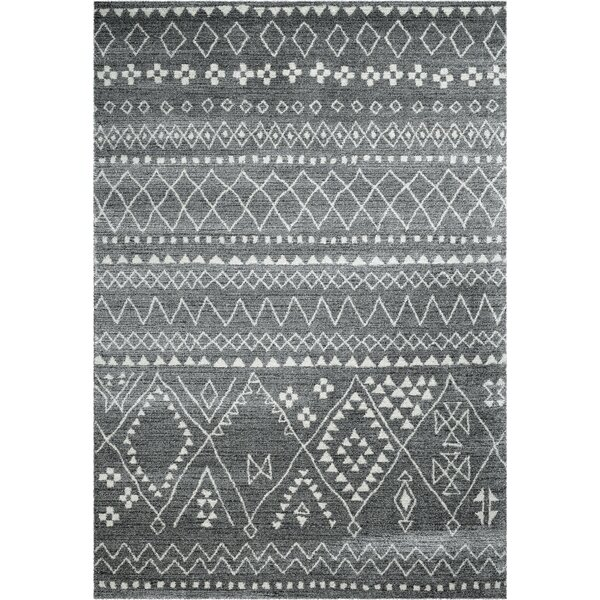 Pisano Gray/Ivory Area Rug by Union Rustic