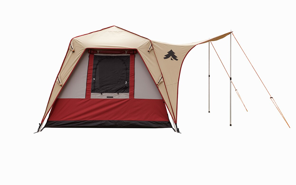 Pine Deluxe Canvas Turbo Tent