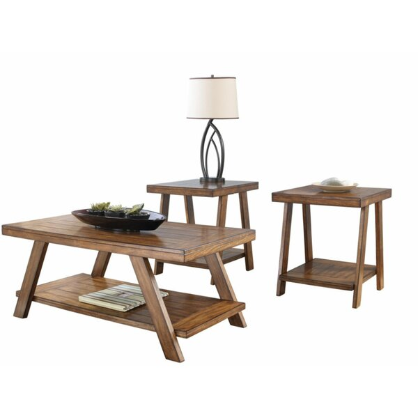 Nestor 3 Piece Coffee Table Set By Loon Peak