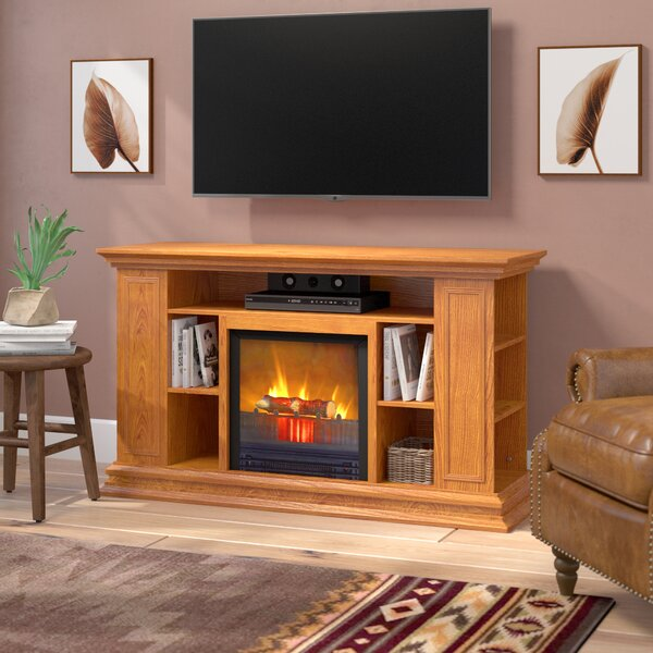 Maidstone 50 TV Stand with Fireplace by Loon Peak