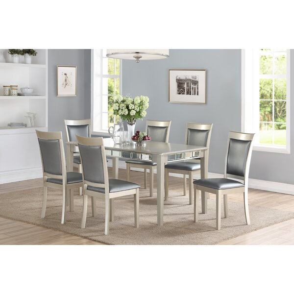 Matherne 7 Piece Dining Set by House of Hampton