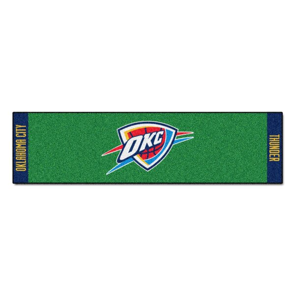 NBA - Oklahoma City Thunder Putting Green Doormat by FANMATS