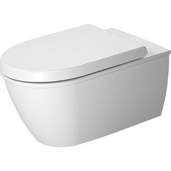Darling New Special Dual Flush Elongated Toilet Bowl by Duravit