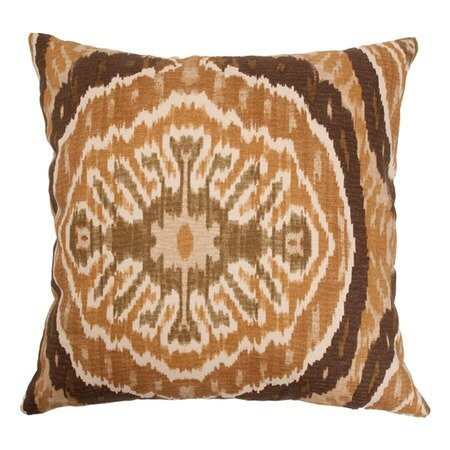 Broadfields Ikat Floor Pillow by Bungalow Rose