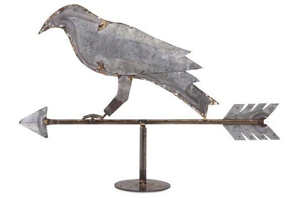 Decorative Crow Weather Vain by Woodland Imports