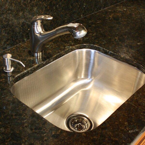 Quidnet 23 L x 17.75 W Undermount Kitchen Sink