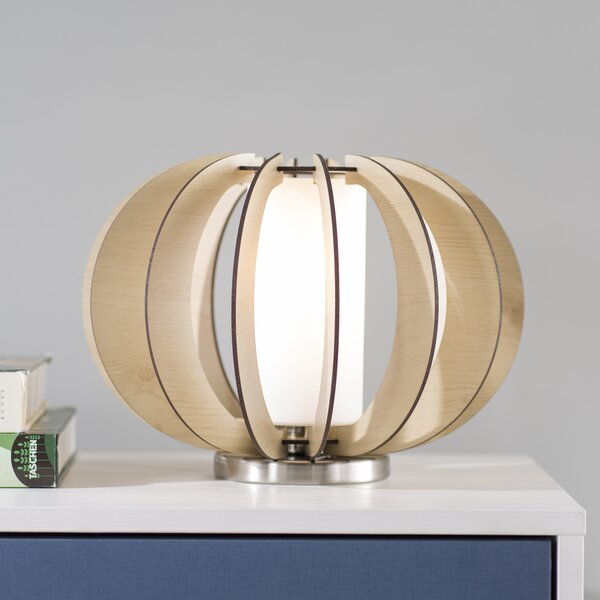 Carvey 8.5 Maple Table Lamp by Langley Street