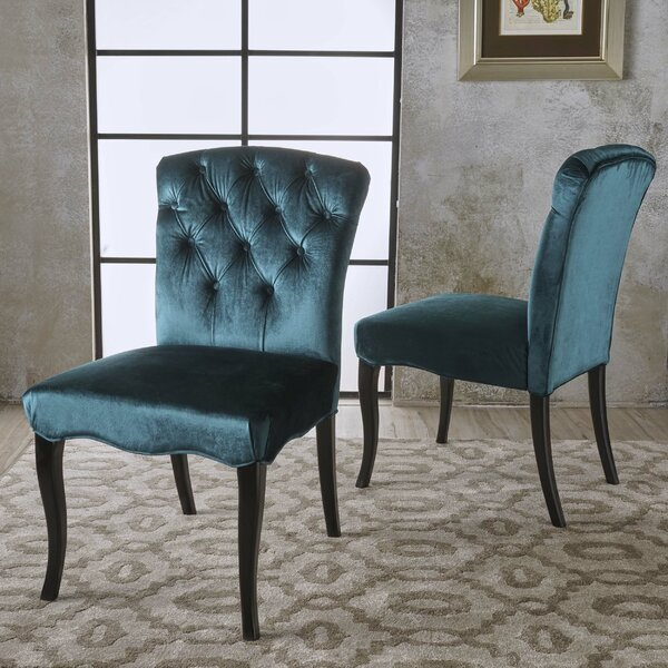 Blackmoore Upholstered Dining Chair (Set of 2) by Rosdorf Park