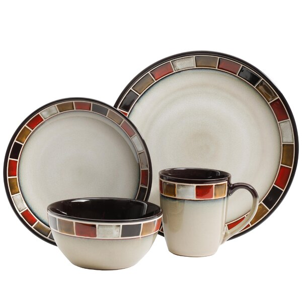 Maxey 16 Piece Dinnerware Set, Service for 4 by Bloomsbury Market