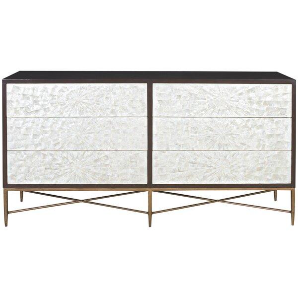 Adagio 6 Drawer Double Dresser by Bernhardt