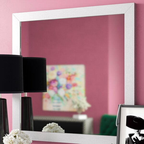 Raye Square Dresser Mirror by Everly Quinn