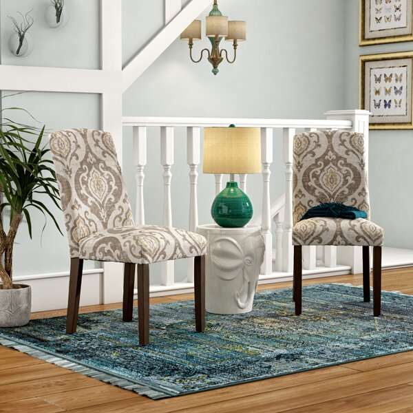 Neena Parsons Chair (Set of 2) by Bungalow Rose Bungalow Rose
