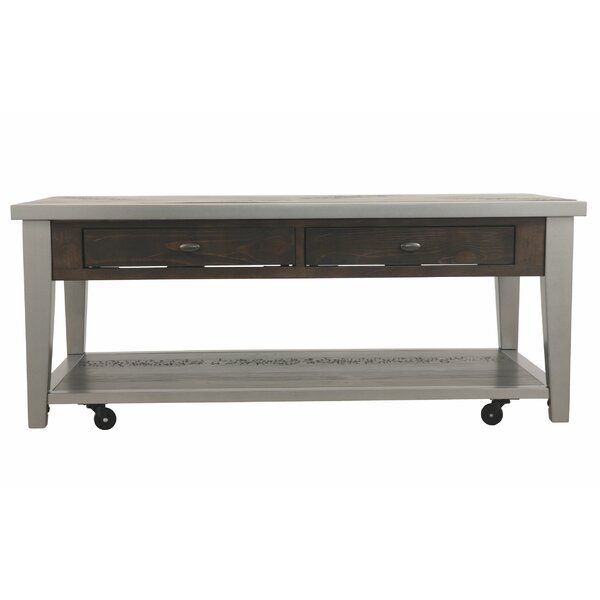 Adalric Coffee Table With Storage By Union Rustic