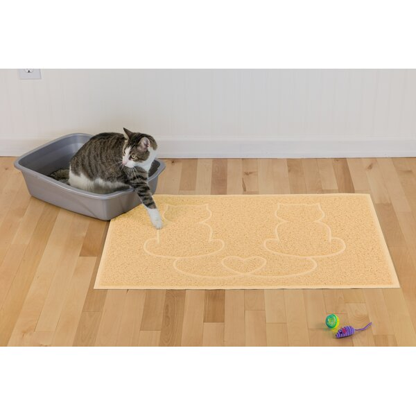 Artrip Tidy Paws Litter and Food Mat by Tucker Murphy Pet