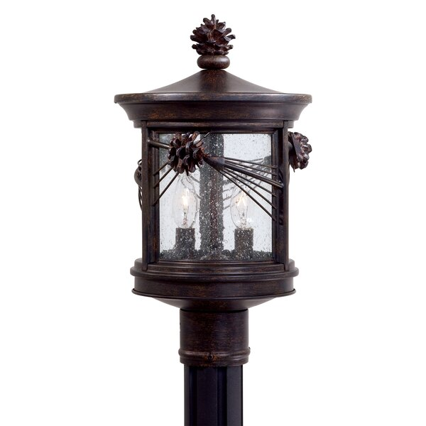 Abbey Lane Outdoor 2-Light Lantern Head by Great Outdoors by Minka