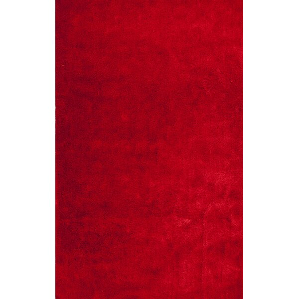 Andre Tomato Red Indoor/Outdoor Area Rug by Wade Logan
