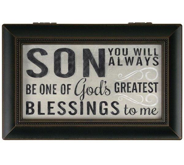 Love You Son Decorative Box by Carson Home Accents