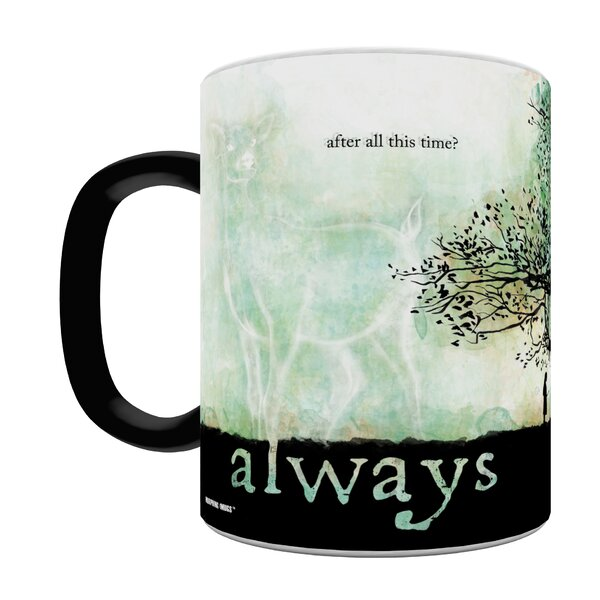 Harry Potter Snape Always Heat Sensitive Coffee Mug by Morphing Mugs