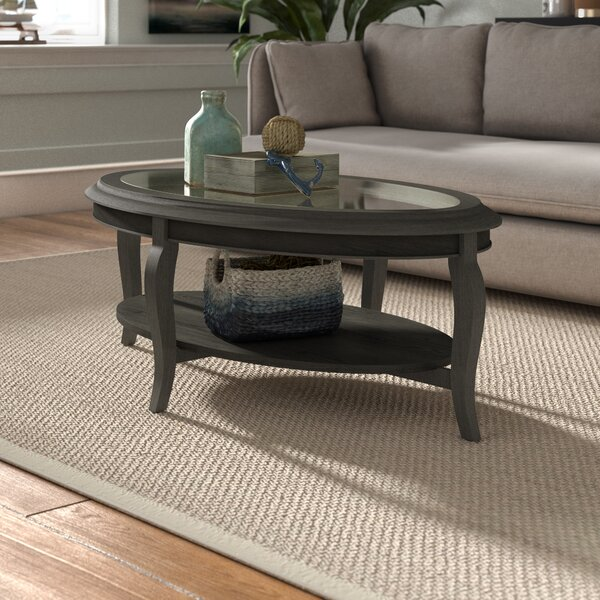 Rannie Coffee Table with Storage by Beachcrest Home Beachcrest Home