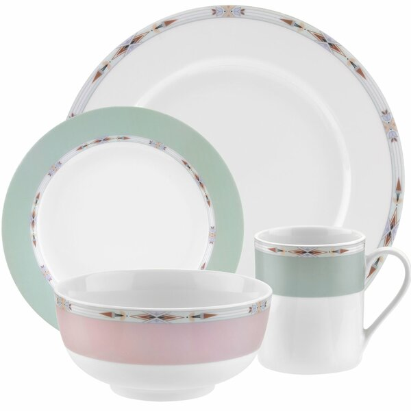 Formal Deco 16 Piece Dinnerware Set by Spode