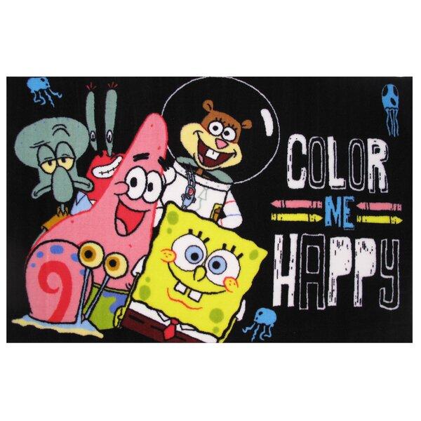 SpongeBob Color Me Happy Area Rug by Fun Rugs