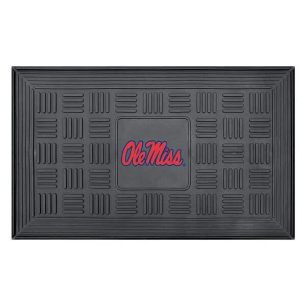 NCAA University of Mississippi (Ole Miss) Medallion Door Mat by FANMATS