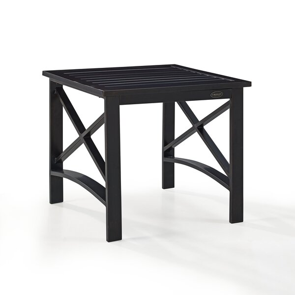 Emmett Metal Side Table by Ivy Bronx