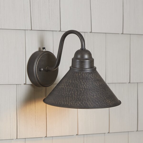 Bigelow Outdoor Barn Light by Laurel Foundry Modern Farmhouse
