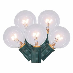 Clearance 10-Light Globe String Lights By Vickerman